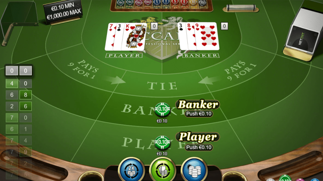 Baccarat Pro Series Table Game