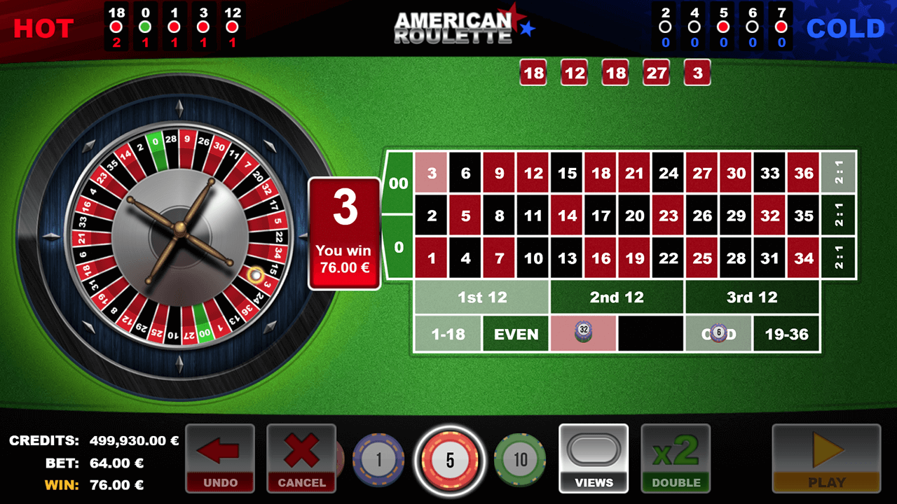 American Roulette by GAMING1