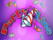 Играть на деньги в автомат Party Line