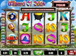 играть в автомат wizard of odds