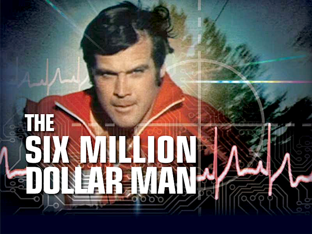 Игровой автомат The Six Million Dollar Man